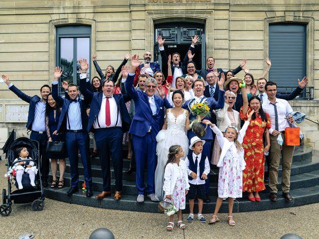 Le mariage de Pierre et Yuelian à Carrières-sur-Seine, Yvelines 60