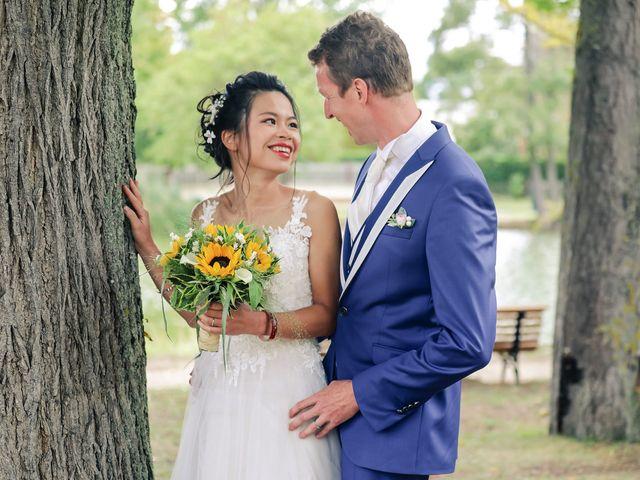 Le mariage de Pierre et Yuelian à Carrières-sur-Seine, Yvelines 62