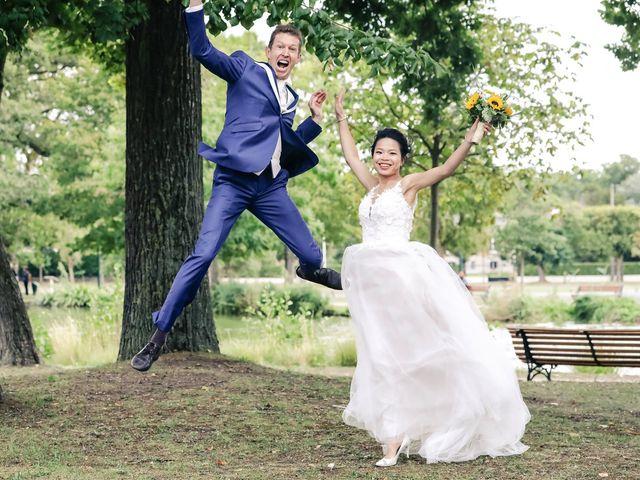Le mariage de Pierre et Yuelian à Carrières-sur-Seine, Yvelines 72