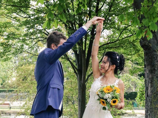 Le mariage de Pierre et Yuelian à Carrières-sur-Seine, Yvelines 74