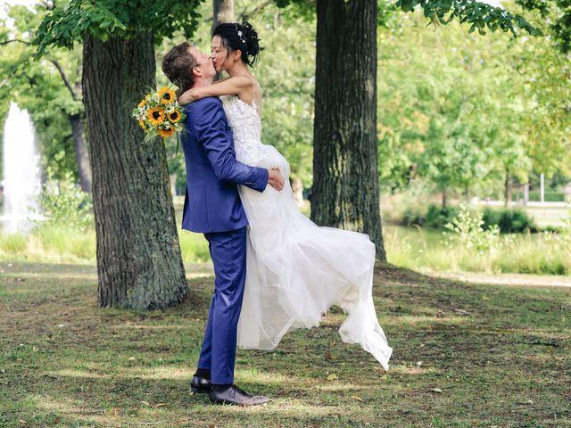 Le mariage de Pierre et Yuelian à Carrières-sur-Seine, Yvelines 75