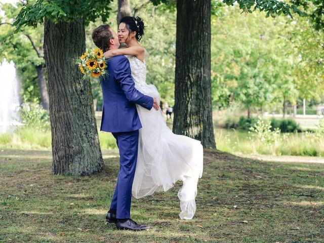 Le mariage de Pierre et Yuelian à Carrières-sur-Seine, Yvelines 76