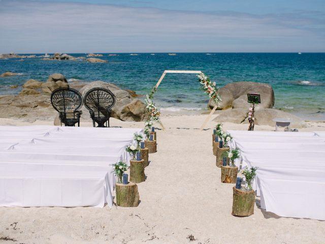 Le mariage de Pierre et Marina à Brignogan-Plage, Finistère 6
