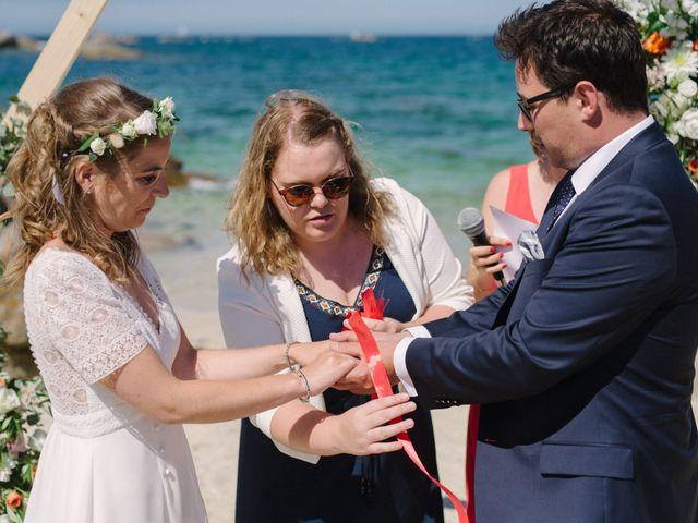 Le mariage de Pierre et Marina à Brignogan-Plage, Finistère 8