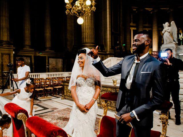 Le mariage de Chistophe et Justine à Paris, Paris 37
