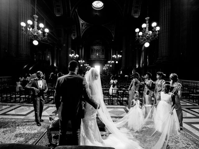 Le mariage de Chistophe et Justine à Paris, Paris 38