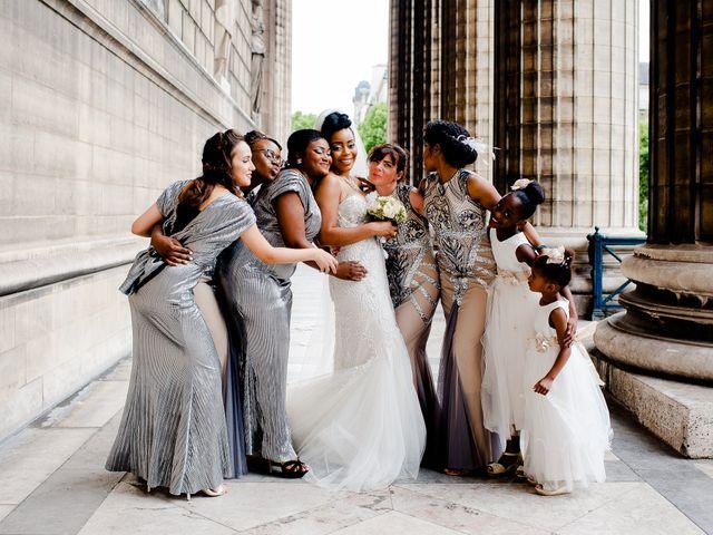 Le mariage de Chistophe et Justine à Paris, Paris 43