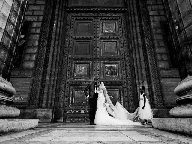 Le mariage de Chistophe et Justine à Paris, Paris 46