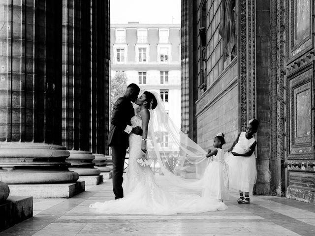 Le mariage de Chistophe et Justine à Paris, Paris 1