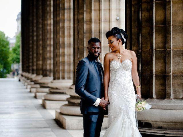 Le mariage de Chistophe et Justine à Paris, Paris 53