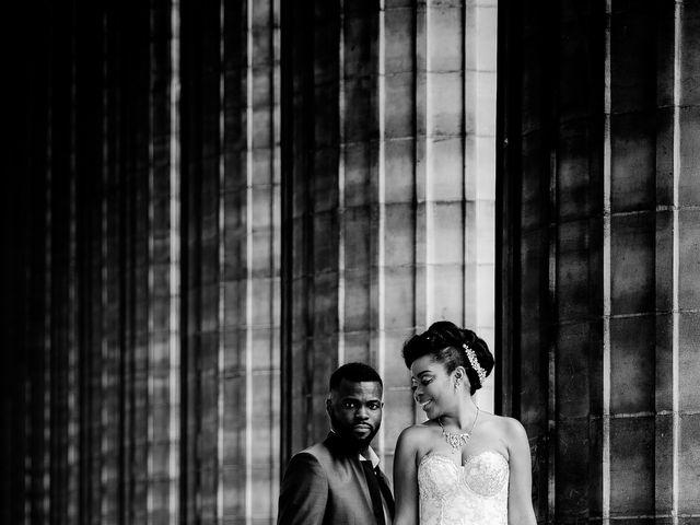 Le mariage de Chistophe et Justine à Paris, Paris 54