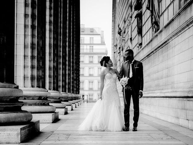 Le mariage de Chistophe et Justine à Paris, Paris 55