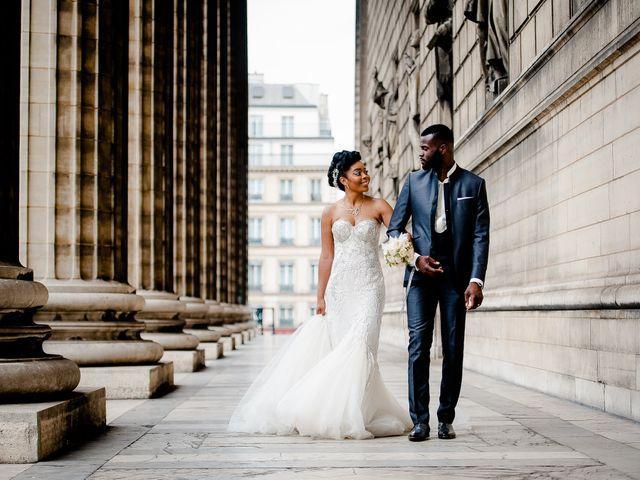 Le mariage de Chistophe et Justine à Paris, Paris 56