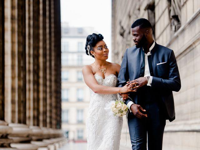 Le mariage de Chistophe et Justine à Paris, Paris 57