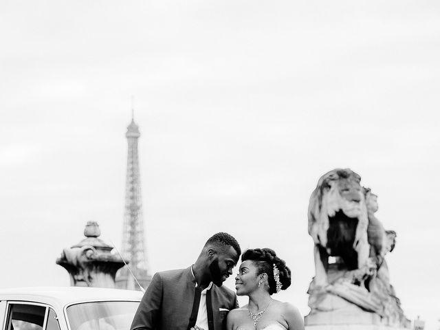 Le mariage de Chistophe et Justine à Paris, Paris 60