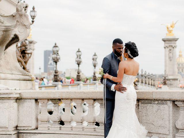 Le mariage de Chistophe et Justine à Paris, Paris 61