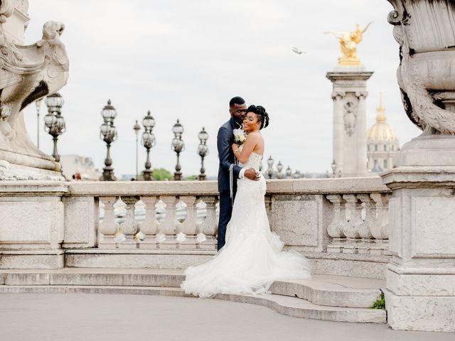 Le mariage de Chistophe et Justine à Paris, Paris 65