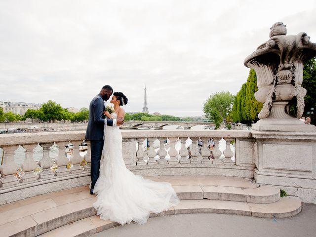 Le mariage de Chistophe et Justine à Paris, Paris 66