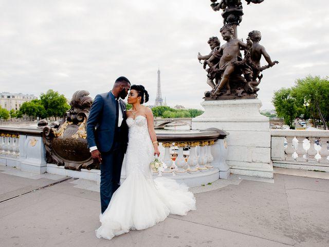 Le mariage de Chistophe et Justine à Paris, Paris 68