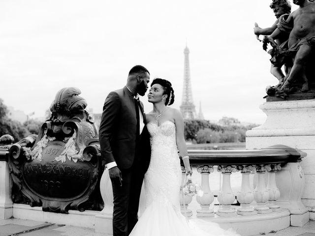 Le mariage de Chistophe et Justine à Paris, Paris 69