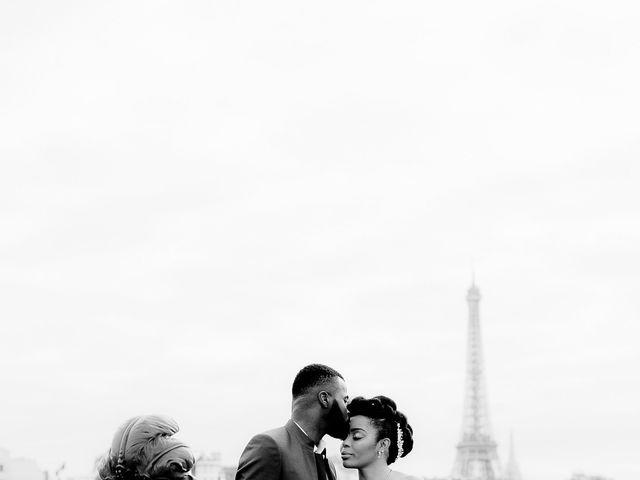 Le mariage de Chistophe et Justine à Paris, Paris 70