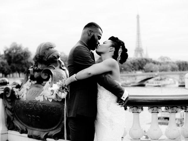 Le mariage de Chistophe et Justine à Paris, Paris 72
