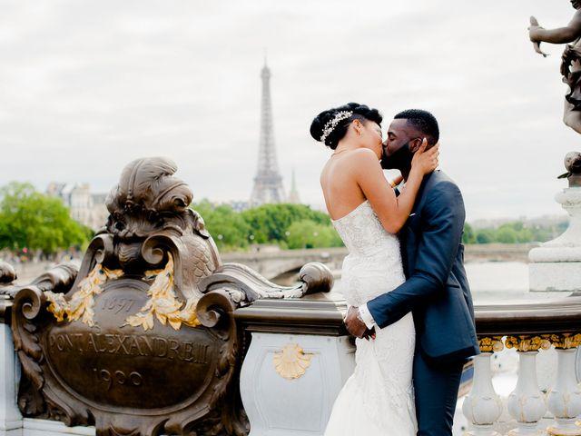 Le mariage de Chistophe et Justine à Paris, Paris 74