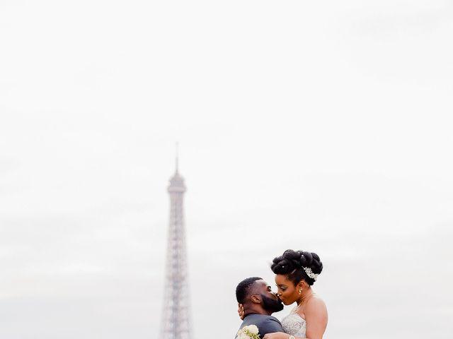 Le mariage de Chistophe et Justine à Paris, Paris 80