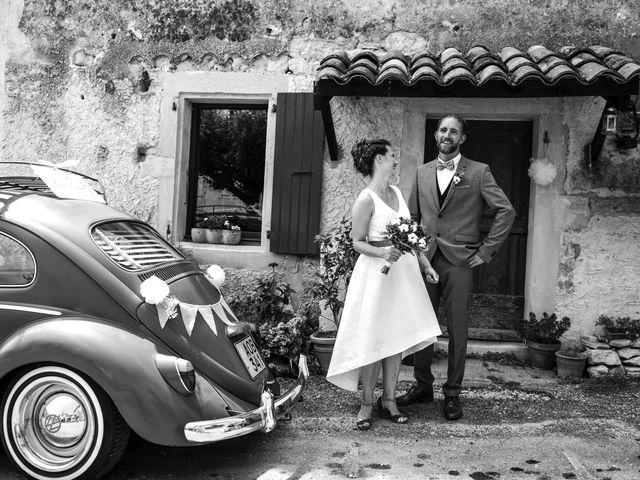 Le mariage de Christophe et Alison à Montjoyer, Drôme 5