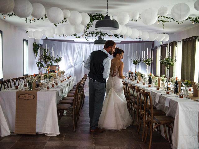 Le mariage de Christophe et Alison à Montjoyer, Drôme 15
