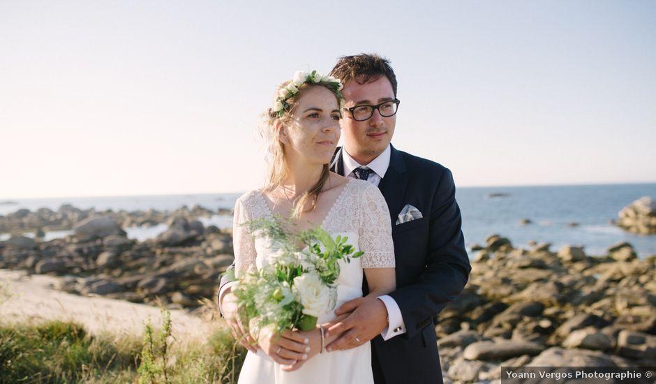 Le mariage de Pierre et Marina à Brignogan-Plage, Finistère