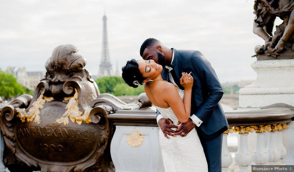 Le mariage de Chistophe et Justine à Paris, Paris