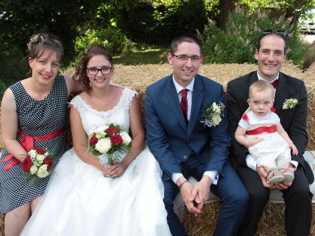 Le mariage de Loulou et Elodie à Hennezis, Eure 50