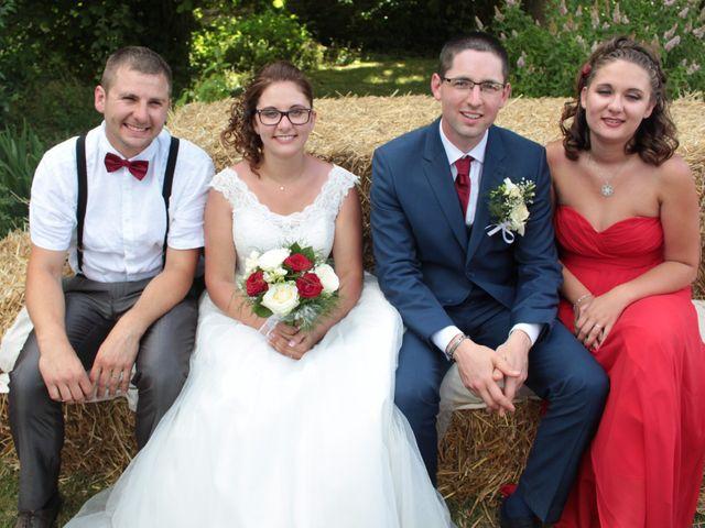 Le mariage de Loulou et Elodie à Hennezis, Eure 53