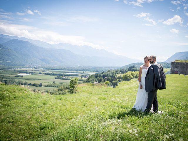 Le mariage de Christophe et Marie à Barraux, Isère 8