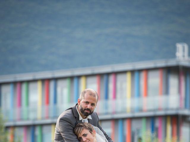 Le mariage de Christophe et Marie à Barraux, Isère 15