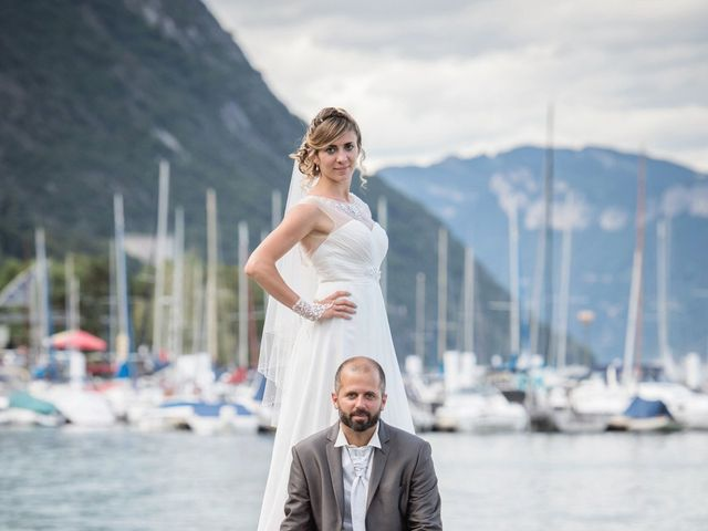 Le mariage de Christophe et Marie à Barraux, Isère 20
