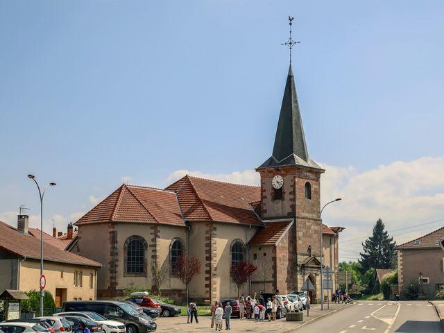 Le mariage de Victor et Magali à Gérardmer, Vosges 69