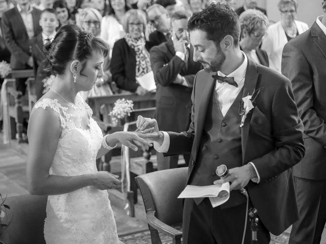 Le mariage de Victor et Magali à Gérardmer, Vosges 88
