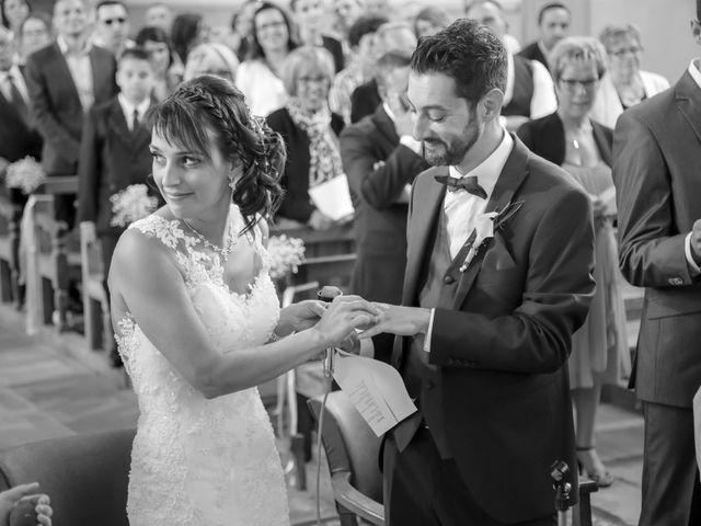 Le mariage de Victor et Magali à Gérardmer, Vosges 89