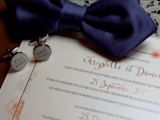 Le mariage de Chrystelle et Damien 1