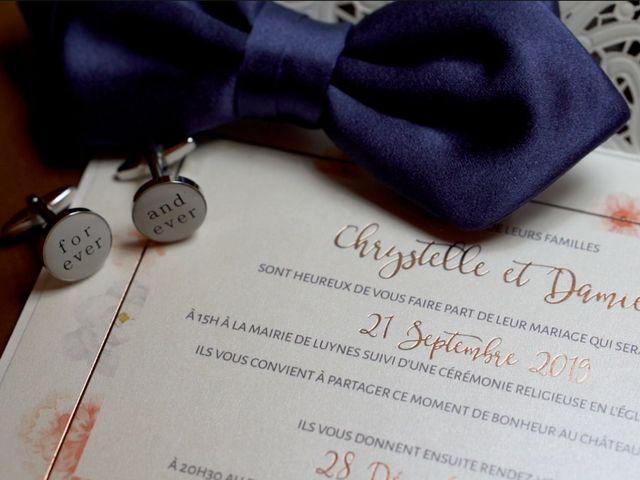 Le mariage de Damien et Chrystelle à Luynes, Indre-et-Loire 2