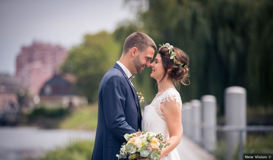 Le mariage de Benjamin et Marie à Strasbourg, Bas Rhin