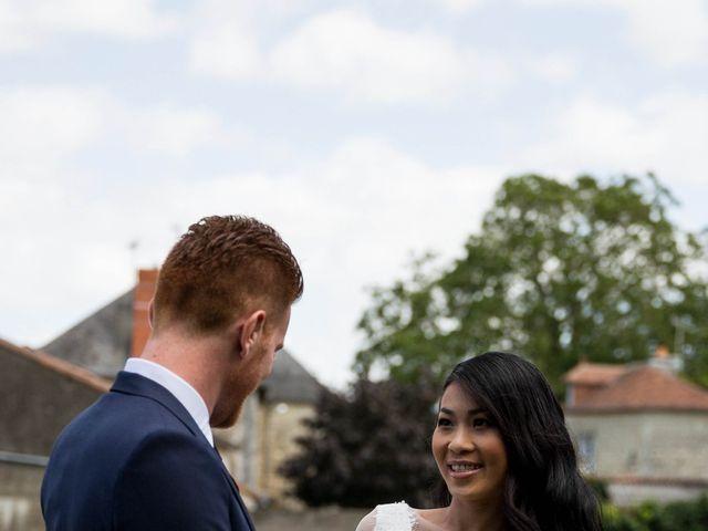 Le mariage de Maxime et Vanyung à Colombiers, Vienne 5
