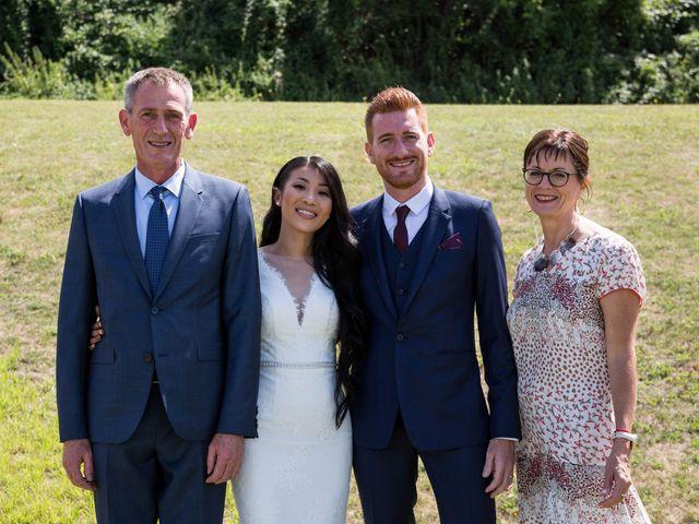 Le mariage de Maxime et Vanyung à Colombiers, Vienne 7