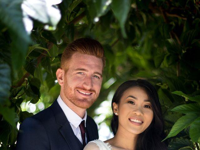 Le mariage de Maxime et Vanyung à Colombiers, Vienne 1