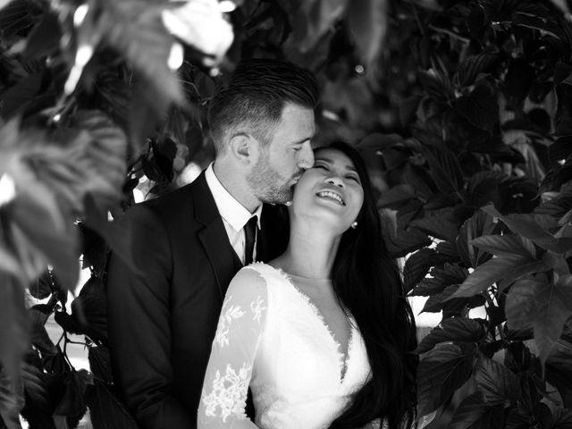 Le mariage de Maxime et Vanyung à Colombiers, Vienne 16