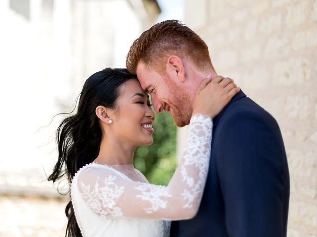 Le mariage de Maxime et Vanyung à Colombiers, Vienne 28
