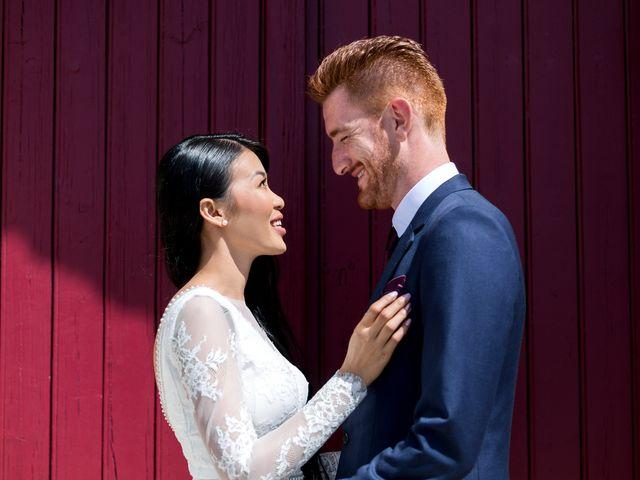 Le mariage de Maxime et Vanyung à Colombiers, Vienne 31