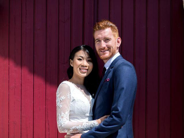 Le mariage de Maxime et Vanyung à Colombiers, Vienne 32
